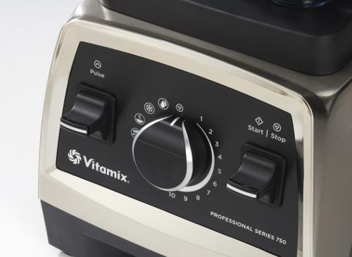 Blenderio Vitamix Professional 750 valdymas