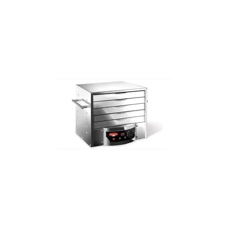 Reber 10080 N 5 padėklų metalinis vaisių džiovintuvas su laikmačiu